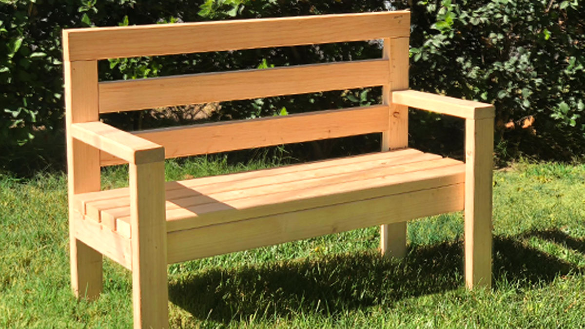 How to Build a Wood Bench