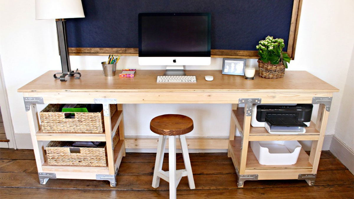 40 Easy DIY Desk Ideas and Designs with Plans on a Budget